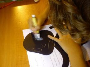 Luca desenează